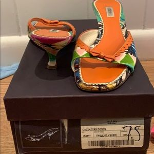 Prada shoes 7.5